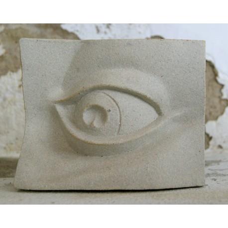 Skulptūra - akis