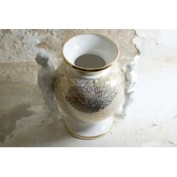 Rankų darbo porcelianinė vaza - šeimos židinys