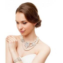 Rankų darbo perlų vėrinys