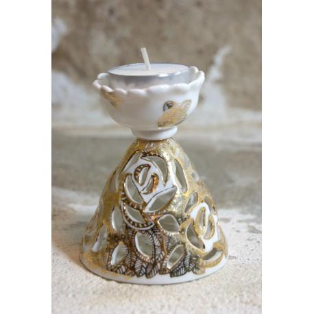 Porcelianinis šeimos židinukas
