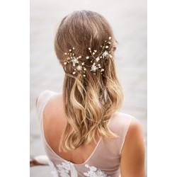 Aksesuaras plaukams dekoruotas perliukais