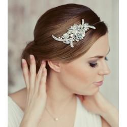 Plaukų lankelis dekoruotas kristalais