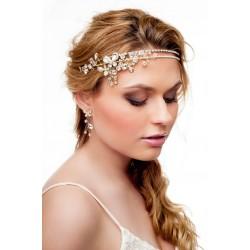 Aksesuaras plaukams dekoruotas kristalais