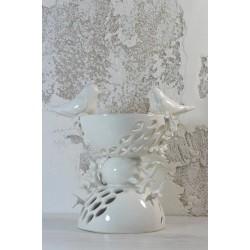 Šeimos židinys - baltoji keramika