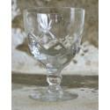 Krištolinės brendžio taurės