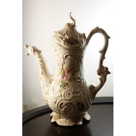 Porcelianinė vaza - gulbė