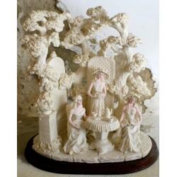 Itališka porceliano skulptūra